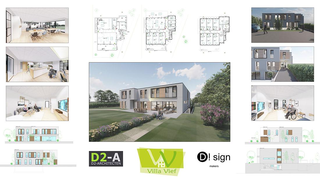 Nieuwbouw Villa Vief