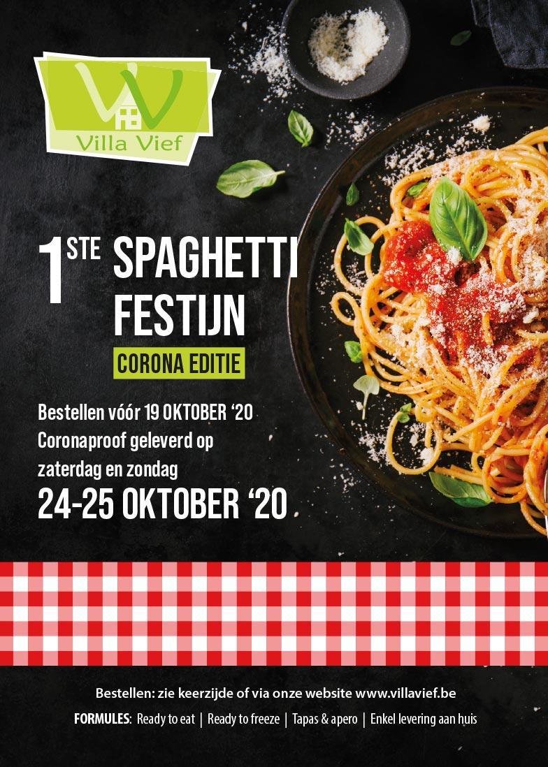 spaghettifestijn Villa Vief